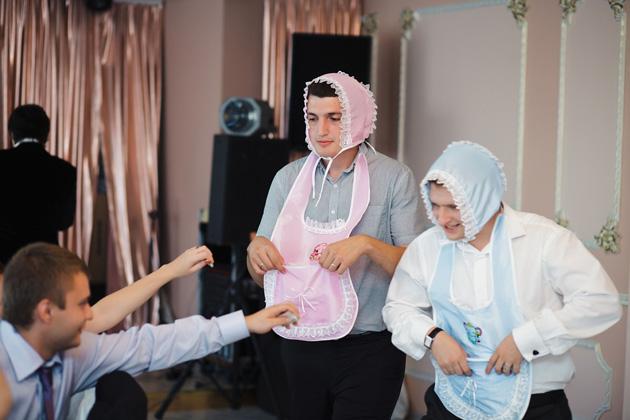 Конкурс на свадьбе на девочку и мальчика