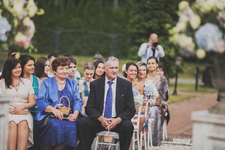 Правильная рассадка на выездной церемонии