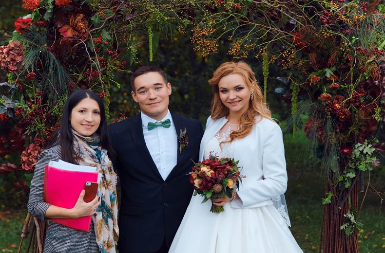помощь координатора в день свадьбы