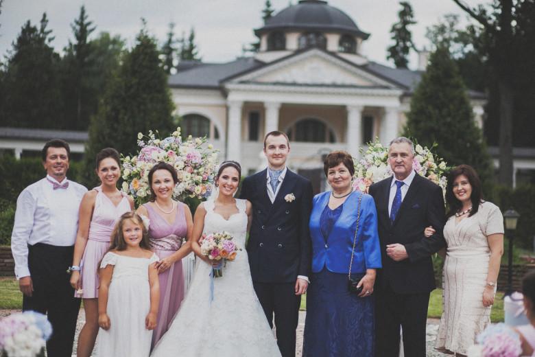 Свадебная фотосессия с родителями