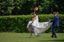 Организация свадьбы: Свадьба на природе