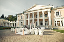 Организация свадьбы: Свадьба в усадьбе