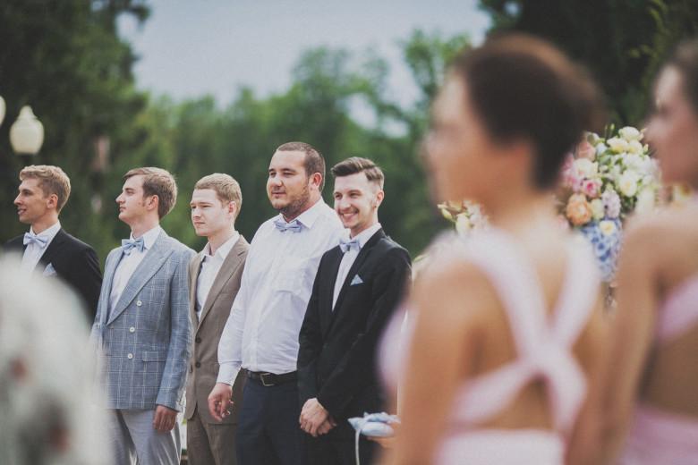 Организация свадьбы:  Друзья жениха