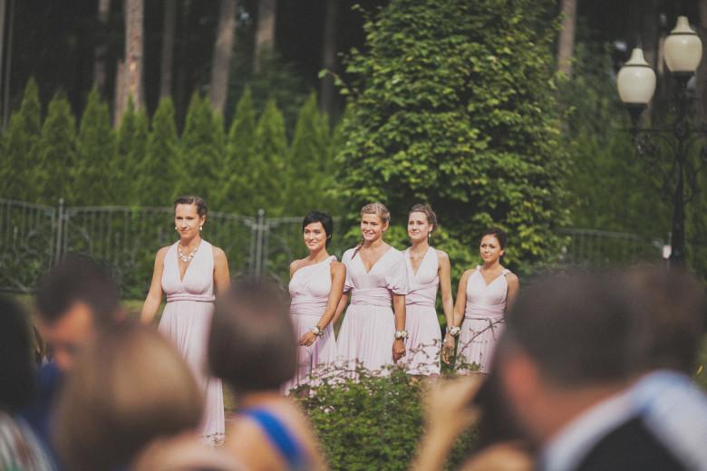 Организация свадьбы:  Подружки невесты платья