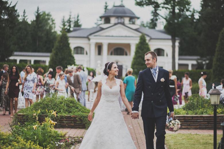 Организация свадьбы:  Завершение церемонии выездной регистрации